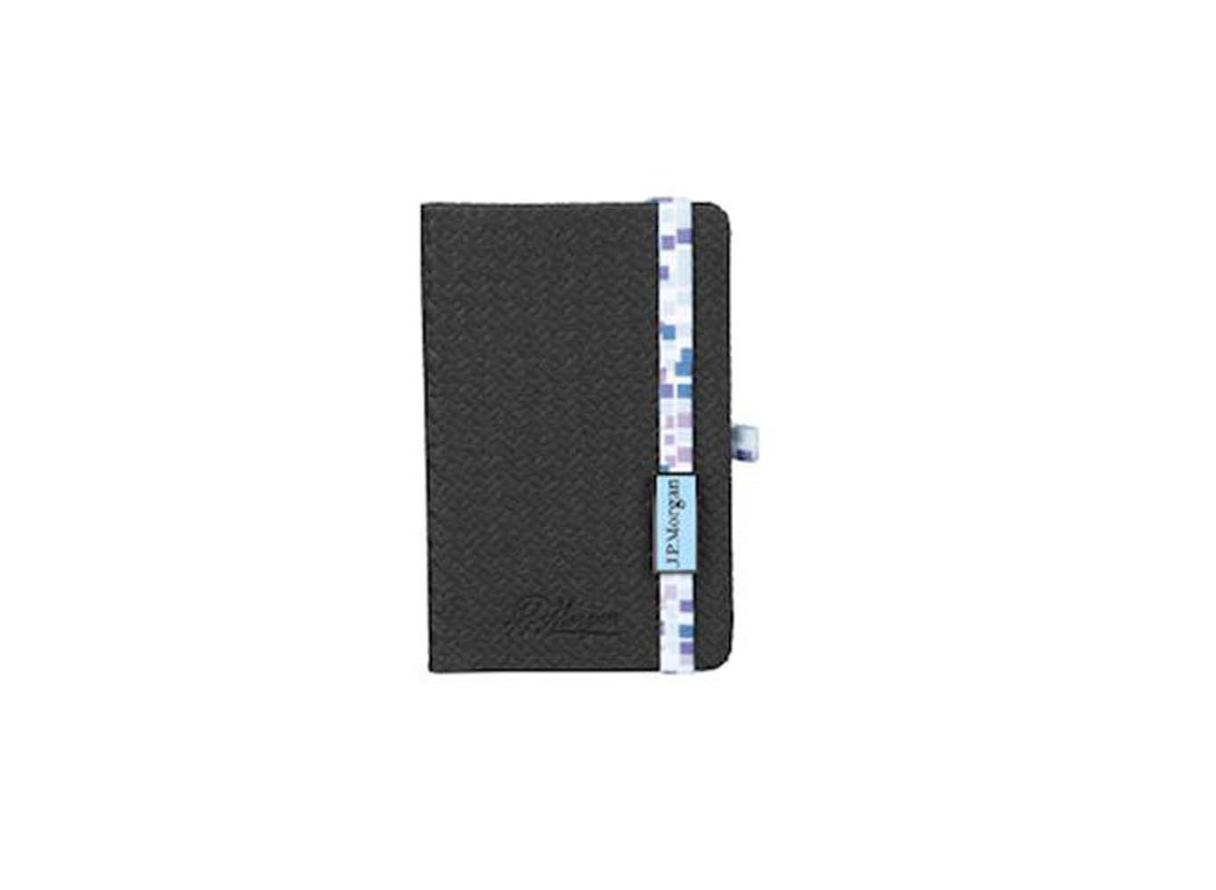 Suede Leather Notebook with Pen Loop Holder