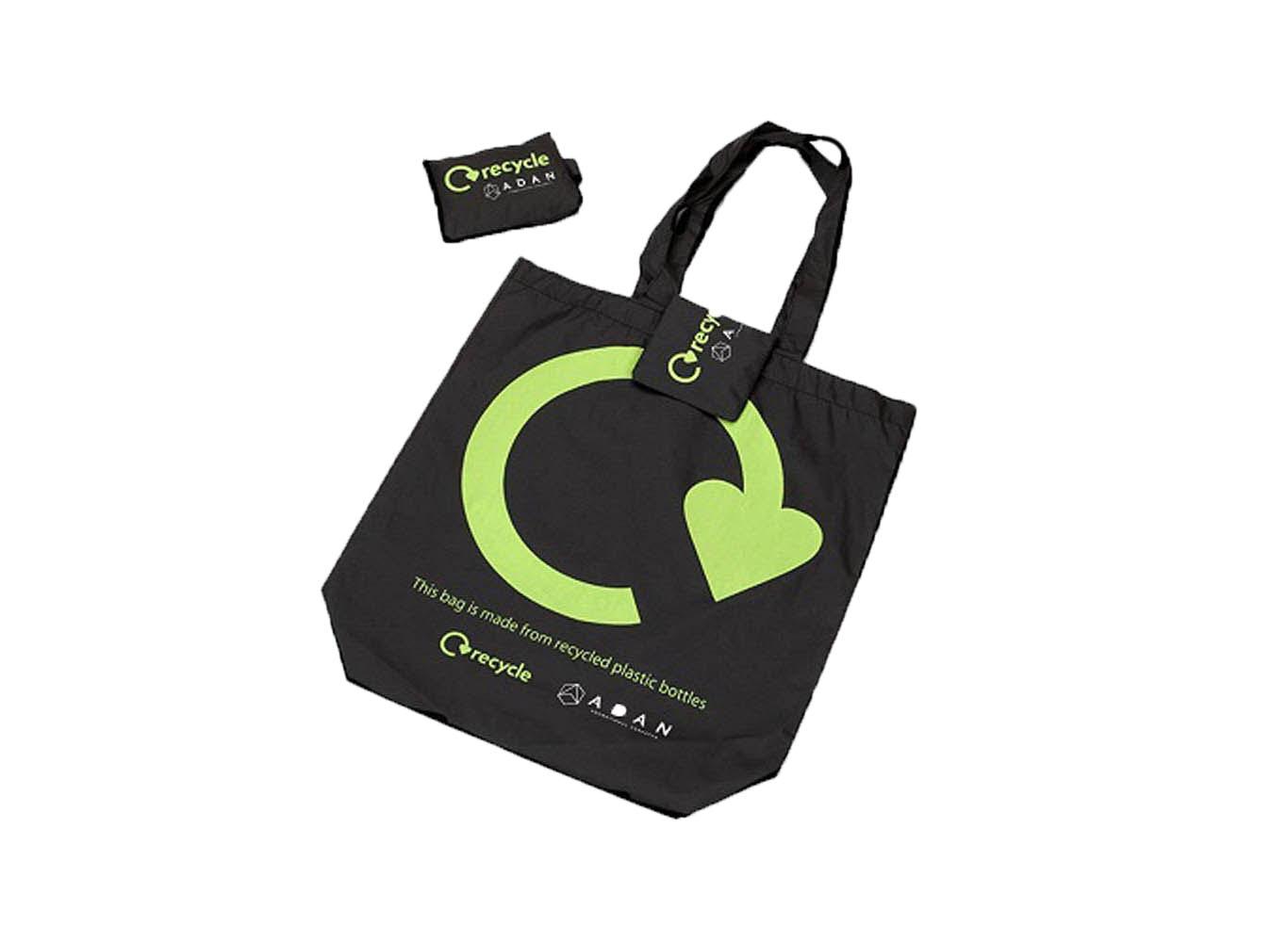 Custom Printed Reusable Fold Up Bag