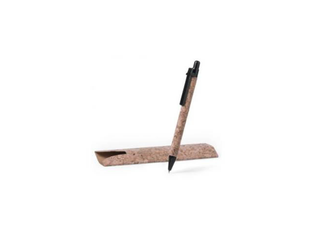 Cork Pen with Cork Fabric Paper Packaging