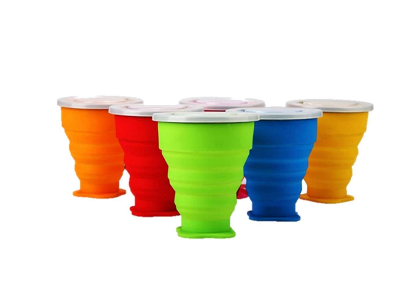 Custom Color Reusable Collapsible Silicone Cup