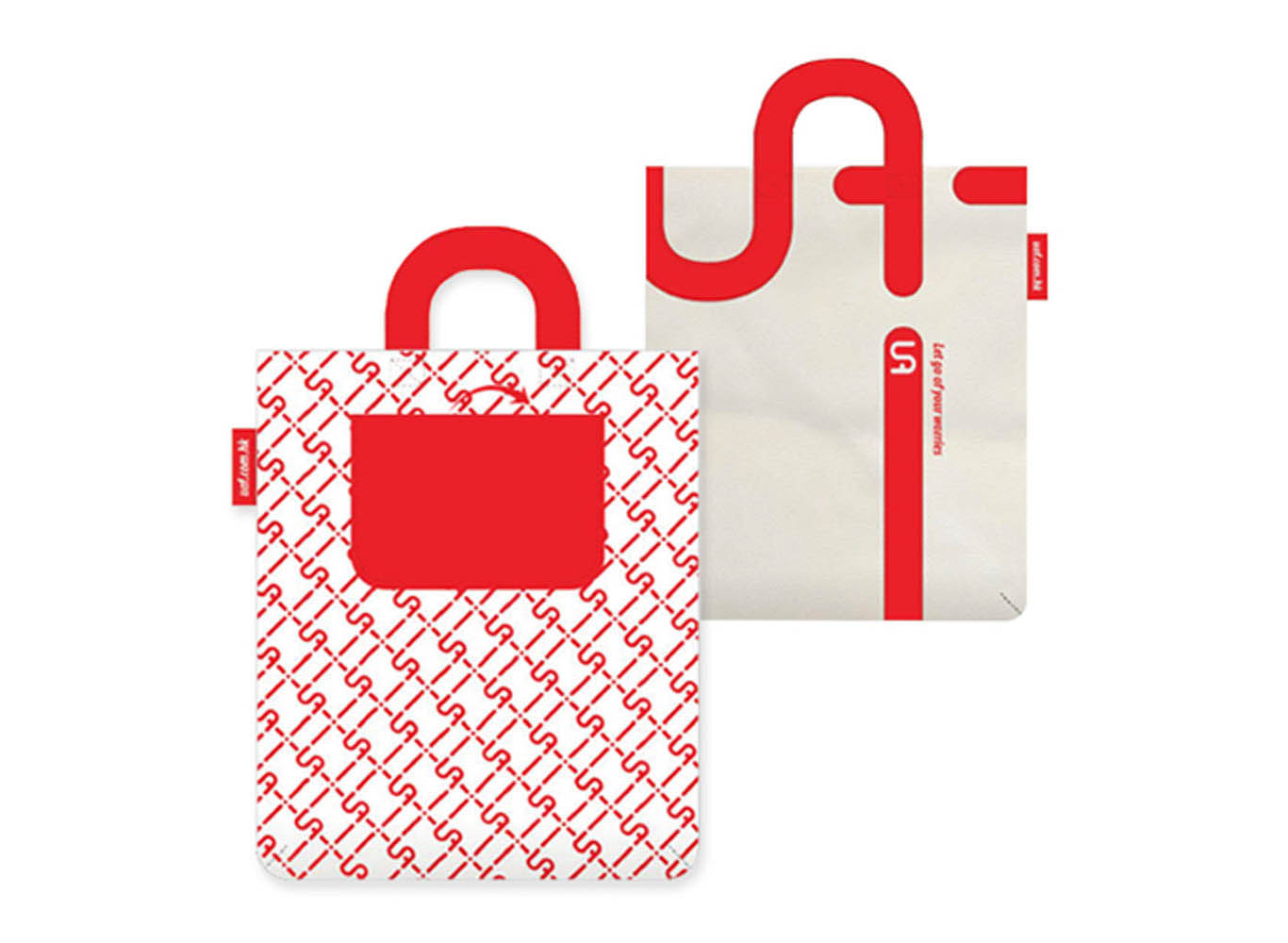 Custom Design Creative Promotional Shopping Bag