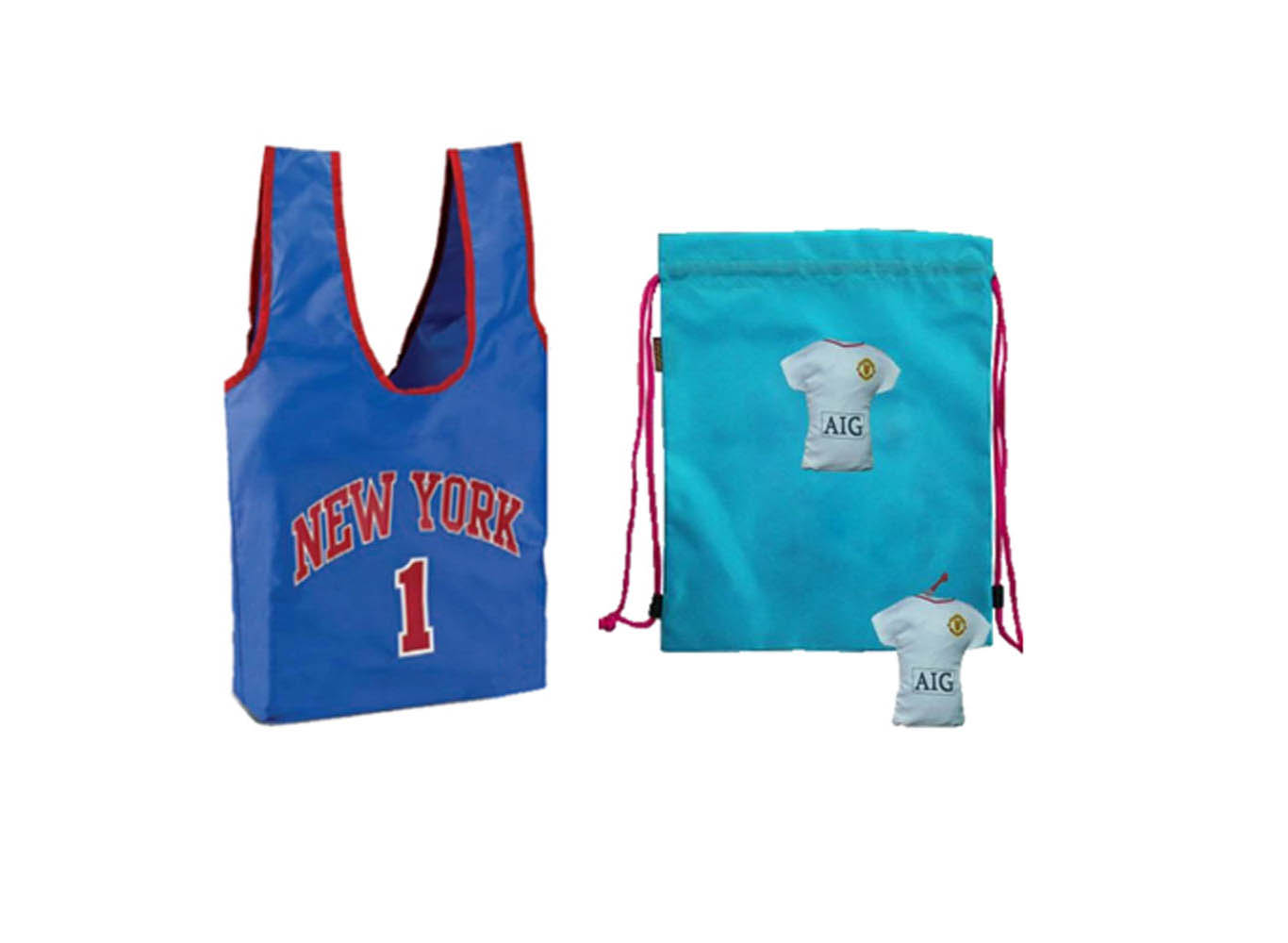 Custom Shaped Reusable Bag/Drawstring Backpack