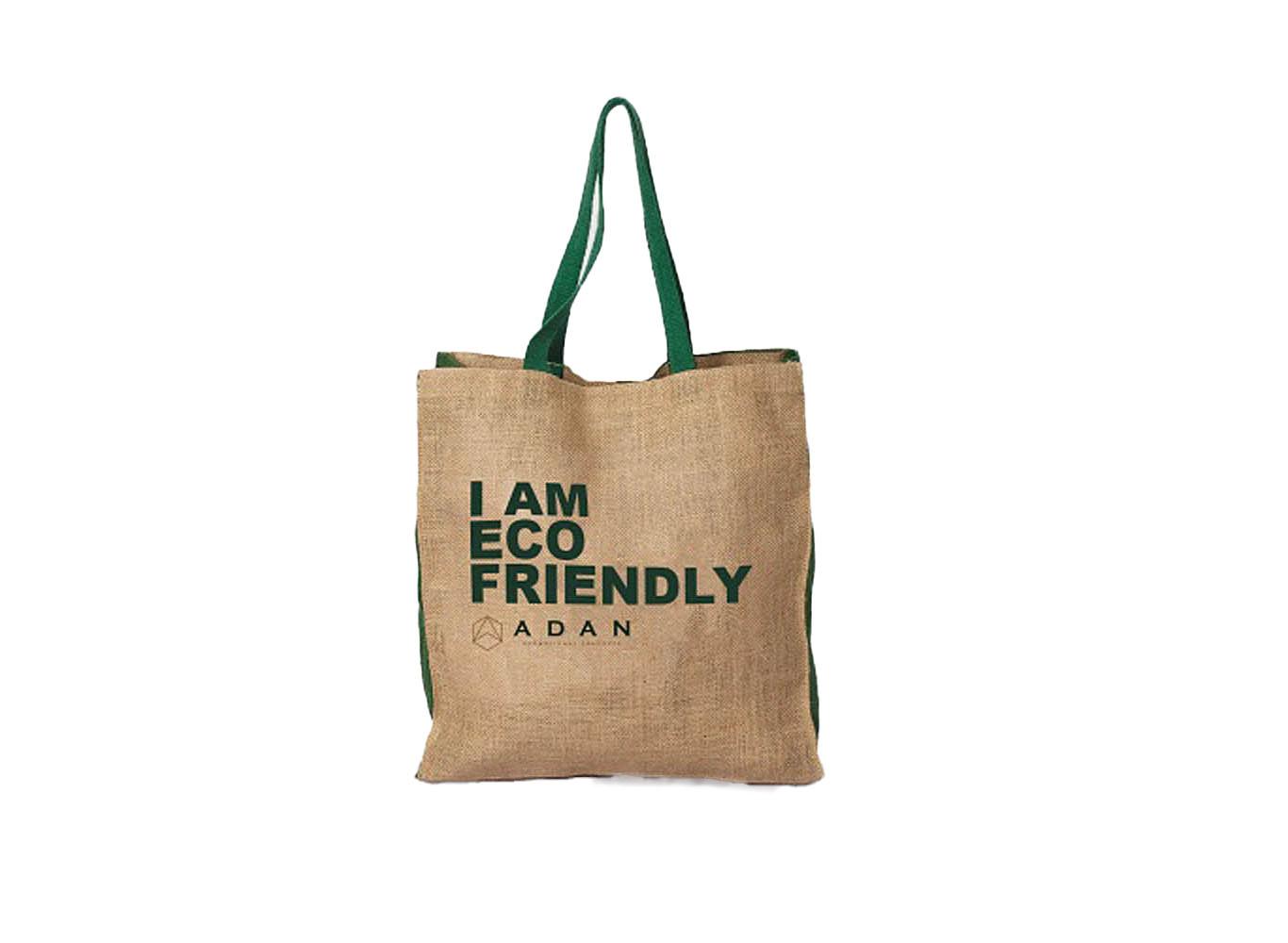 Custom Printed Jute Shopping Bag