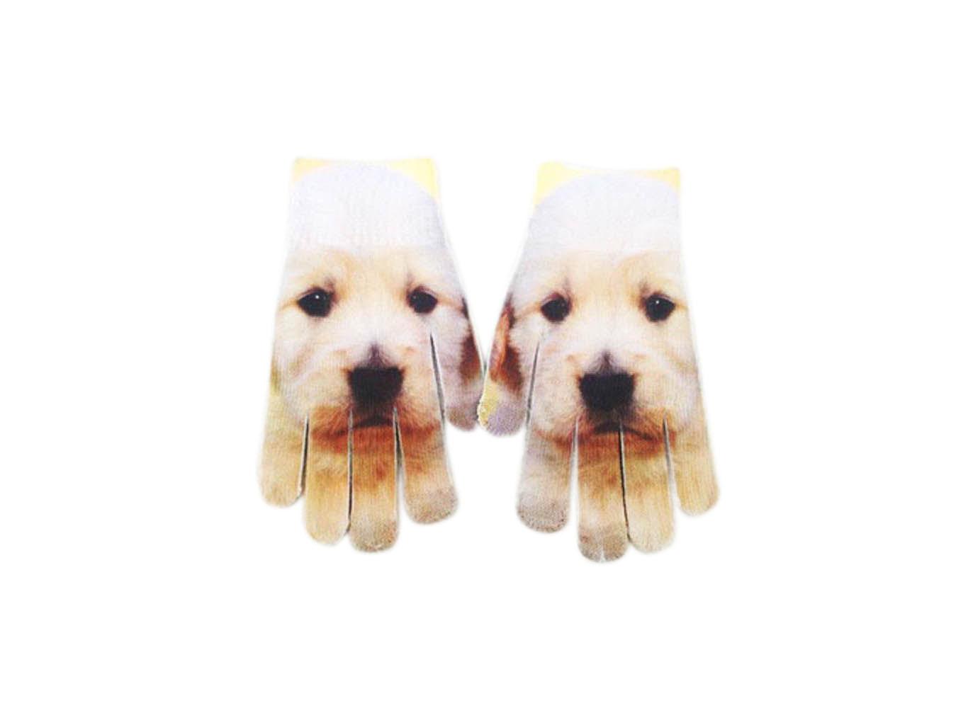 Custom Full Color Print Winter Gloves Mittens