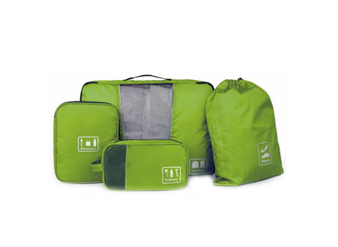 Custom Printed Travel Packing Organizer Clothes Bag