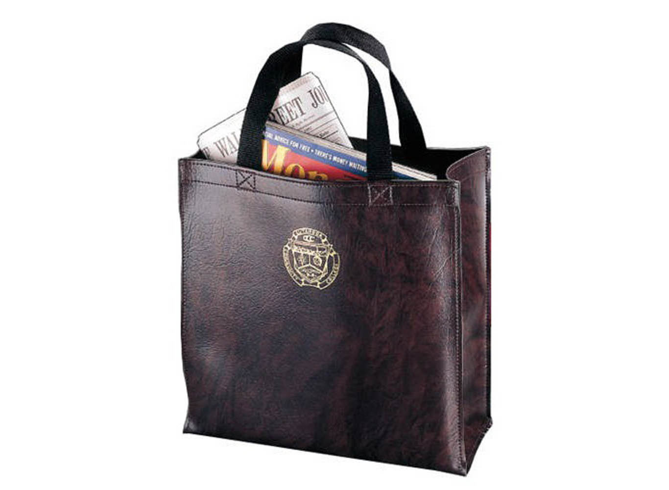 Customized Leather Executive Tote Bag