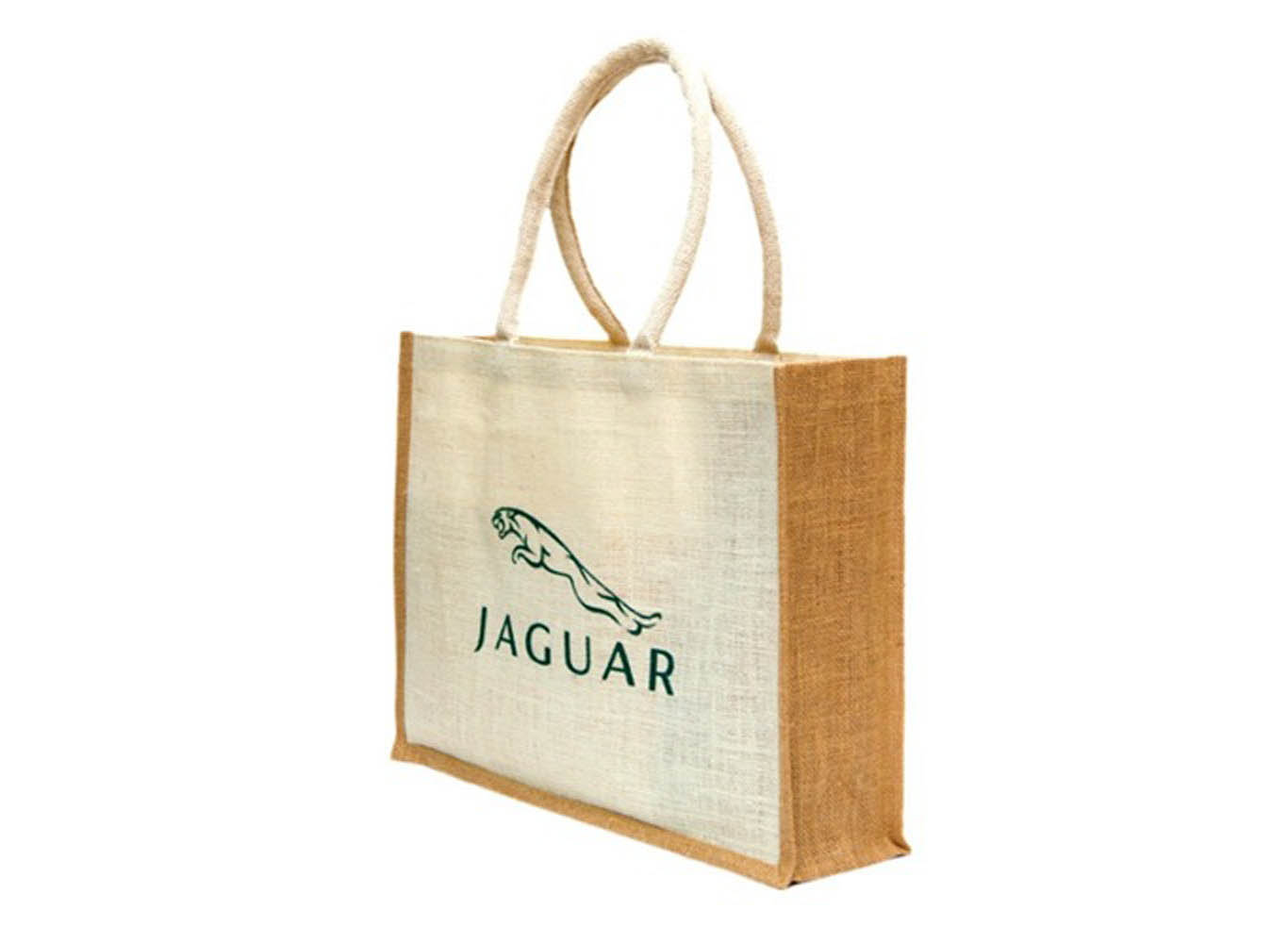 Personalized Jute Tote Bag with Handle