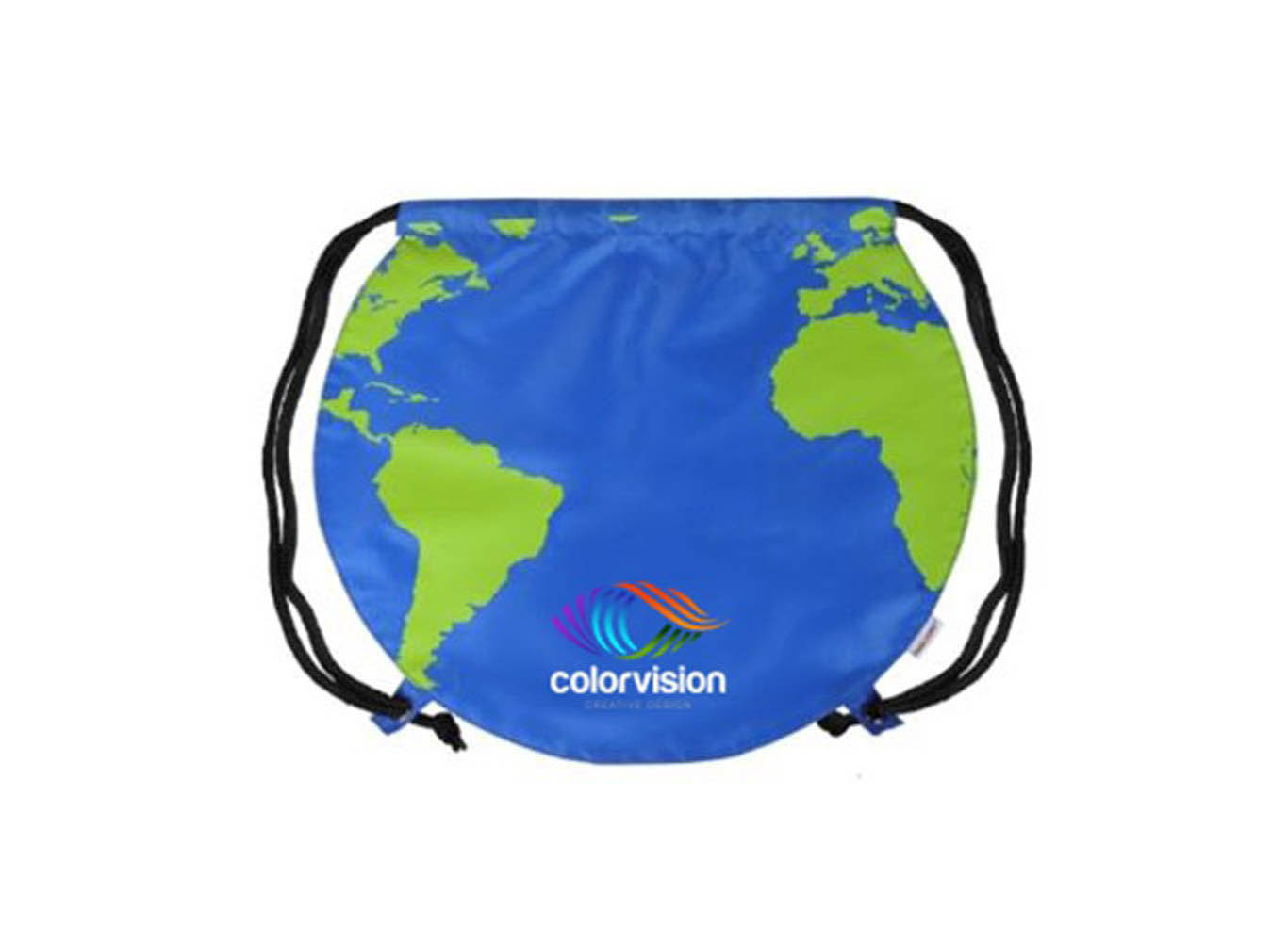 Custom Drawstring Backpack Made From Recycled Plastic