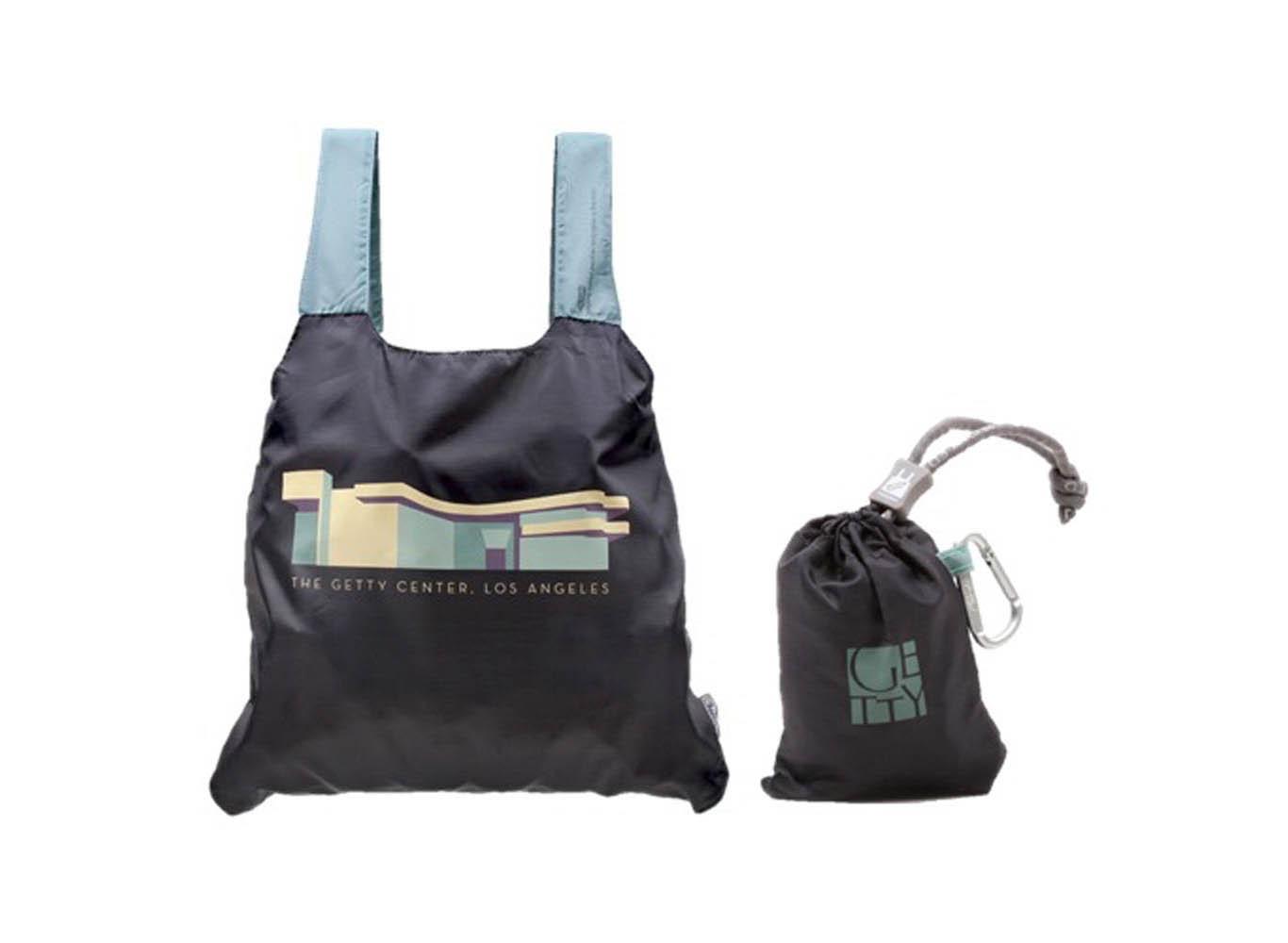 Custom Printed Recycled Plastic Fold Up Bag