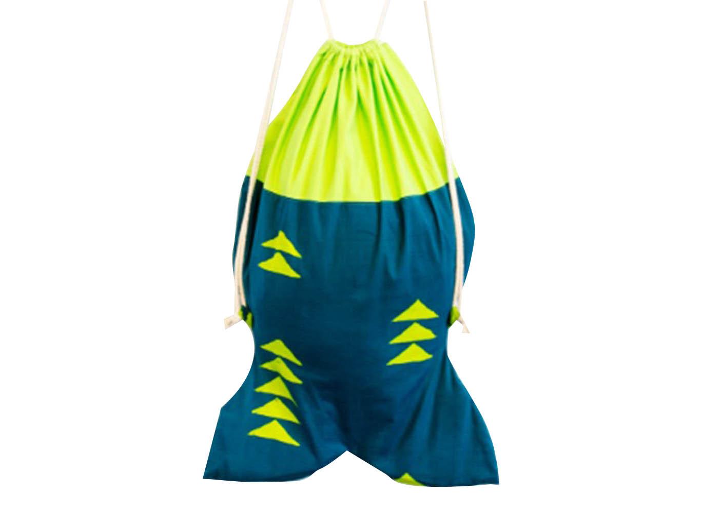 Custom Shaped RPET Drawstring Backpack