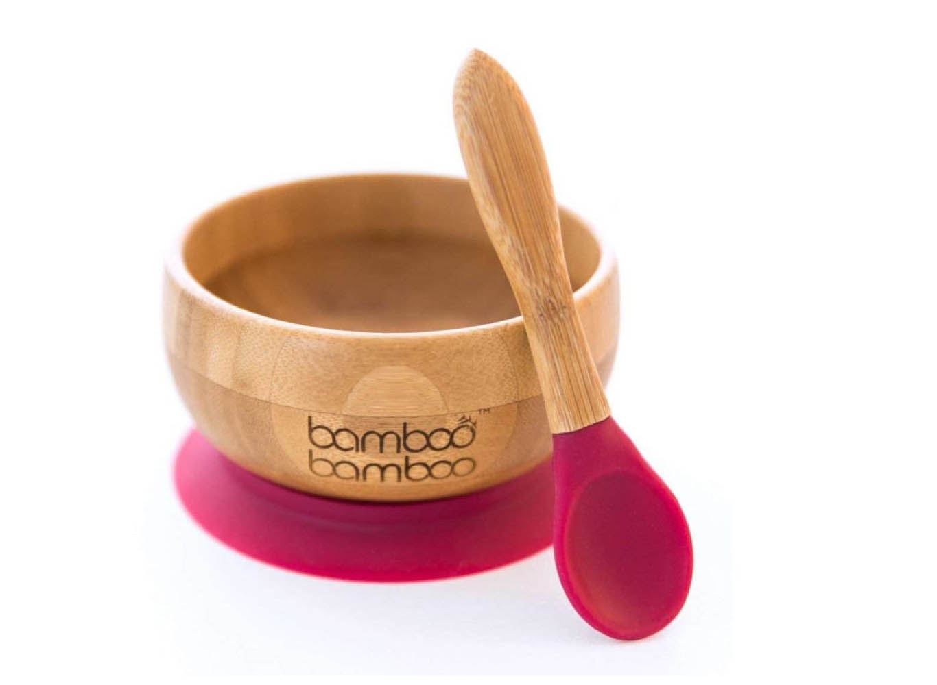 ECO Bamboo Bowl & Bamboo Spoon