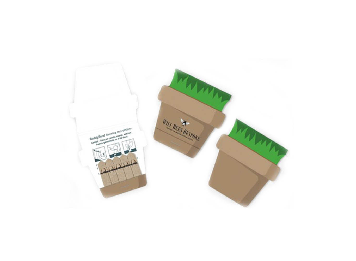 Eco Plantable Seed Cards