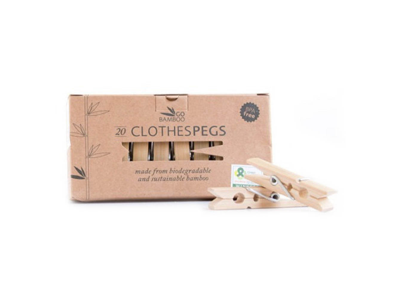 Custom Bamboo Clothes Pegs