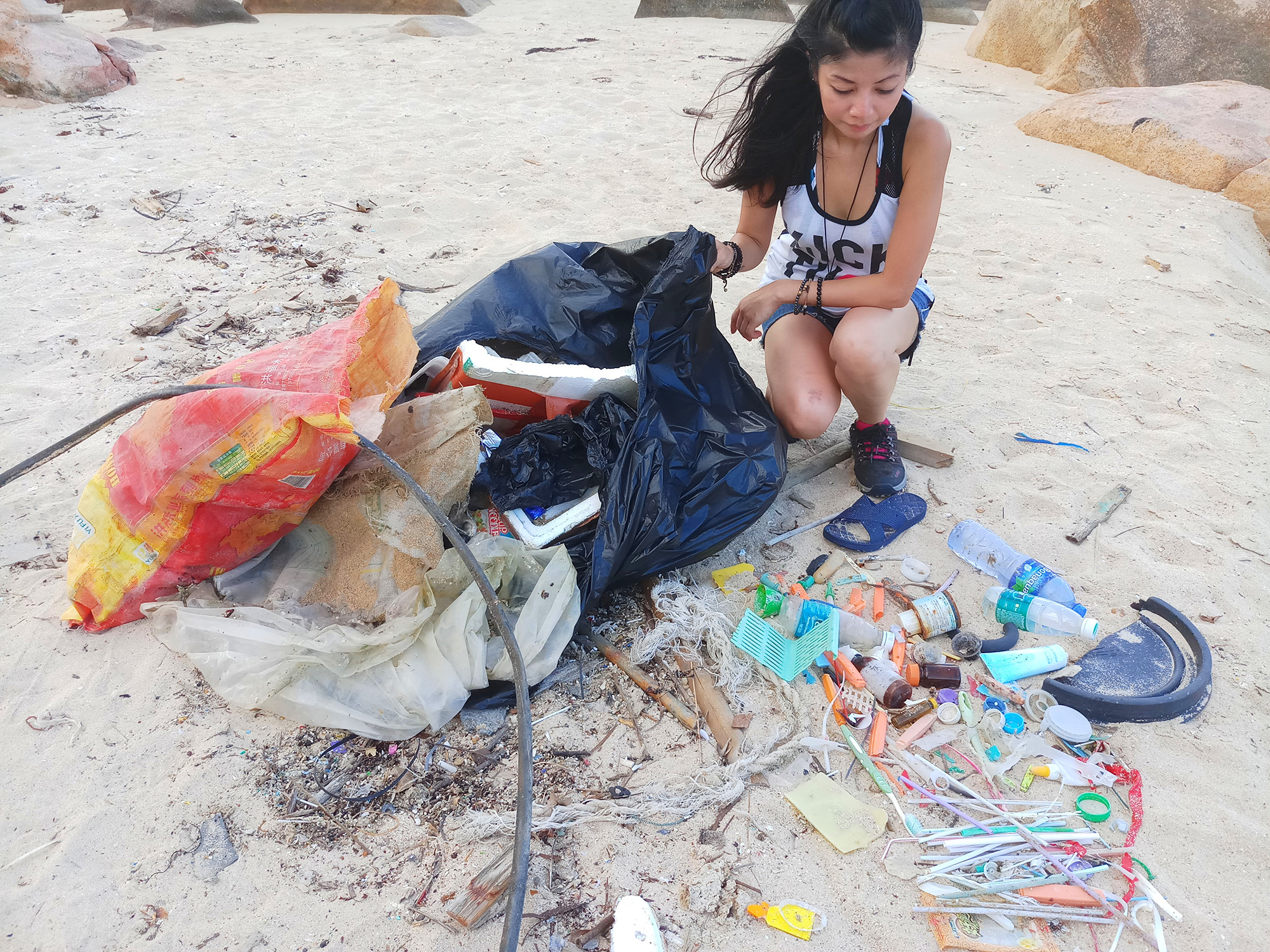 May 2018 Beach clean up