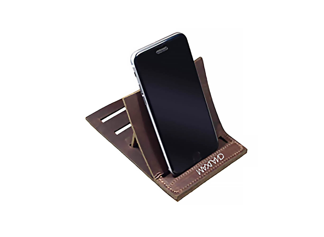 UPcycle Leather Phone holder stand