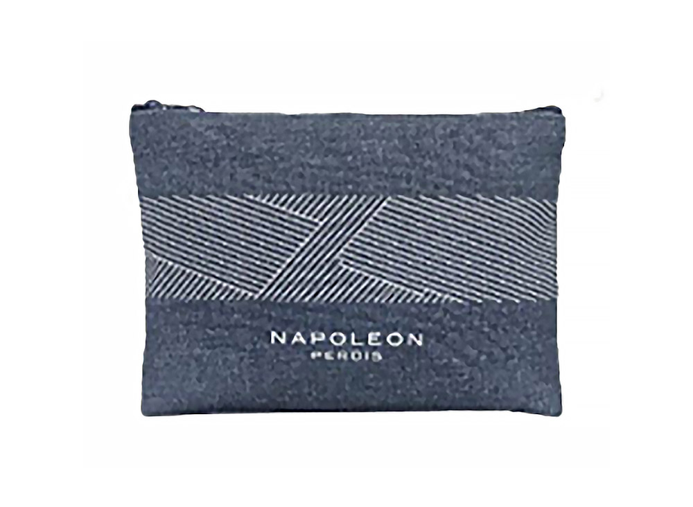 UPcycle cotton Zipper Pouch