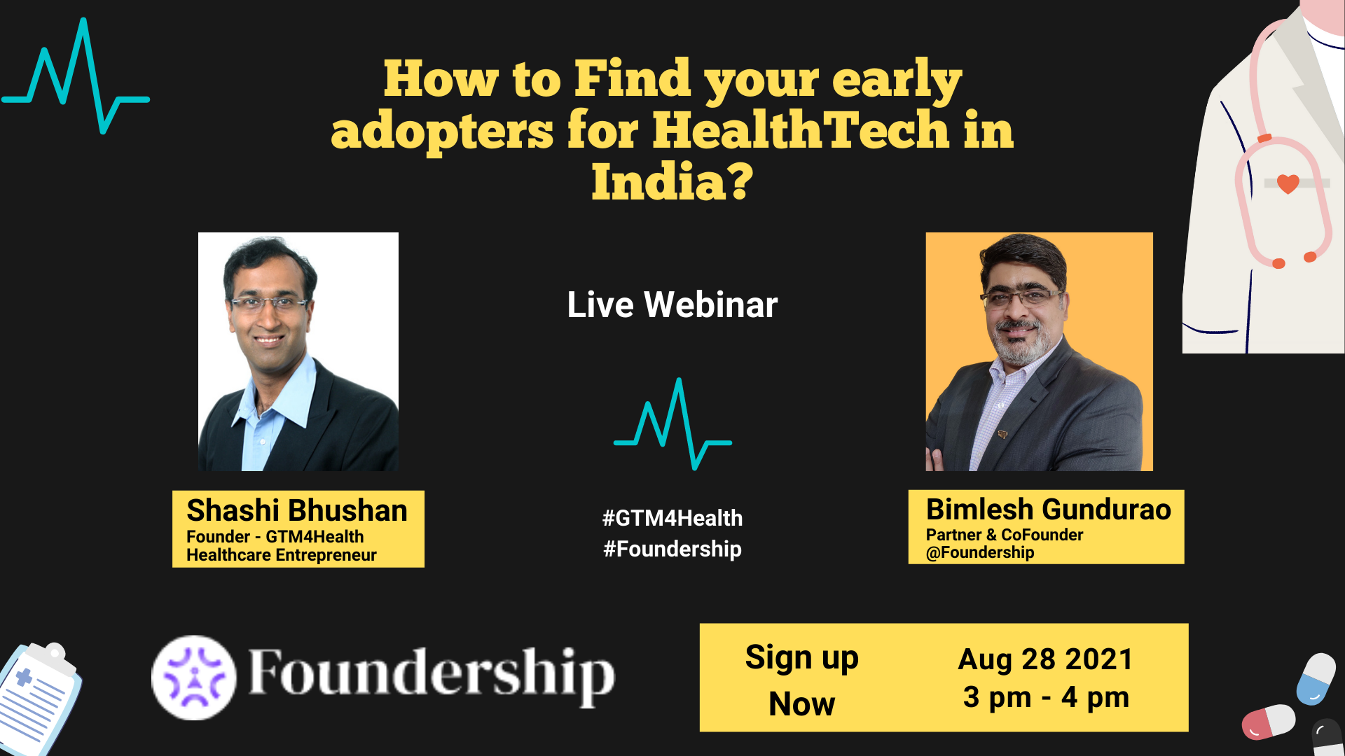 How to Find your Early Adopters for HealthTech in India?