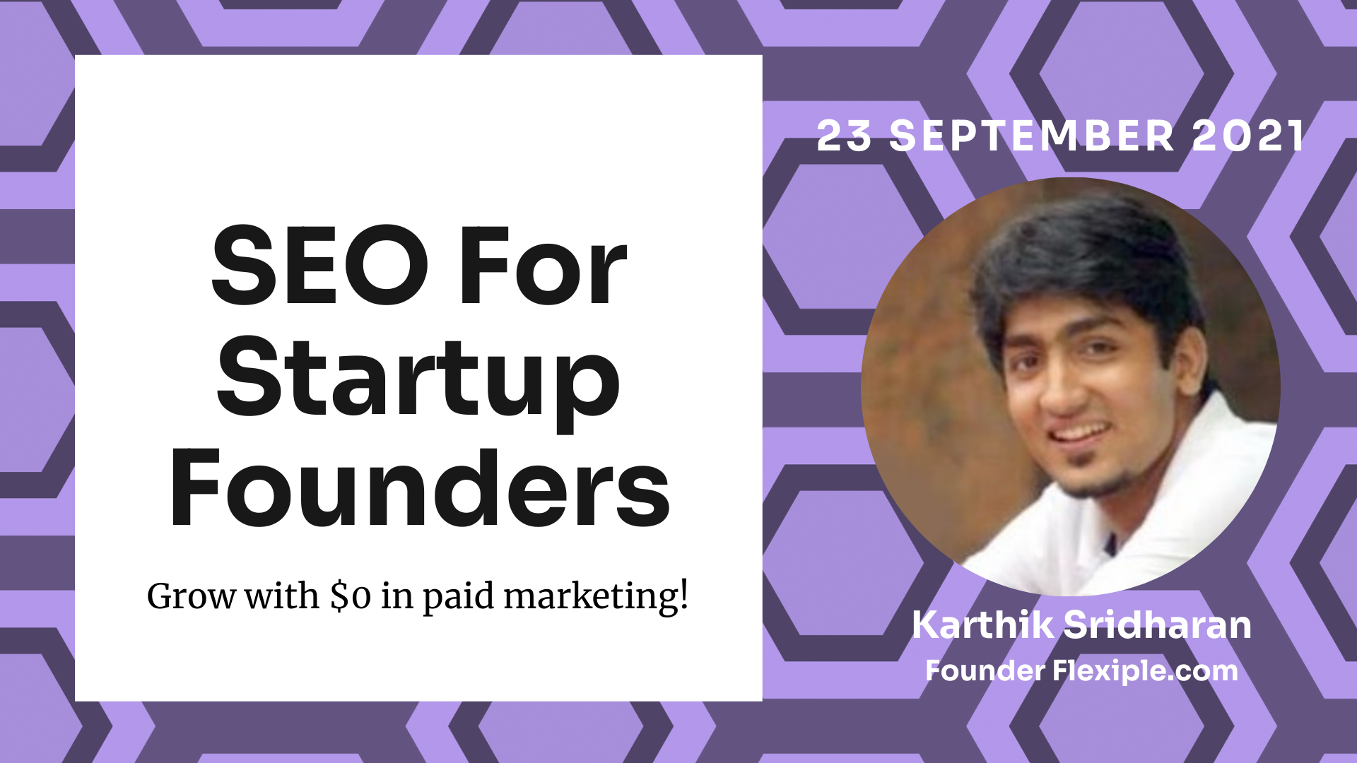 Grow your startup - SEO for Startup Founders