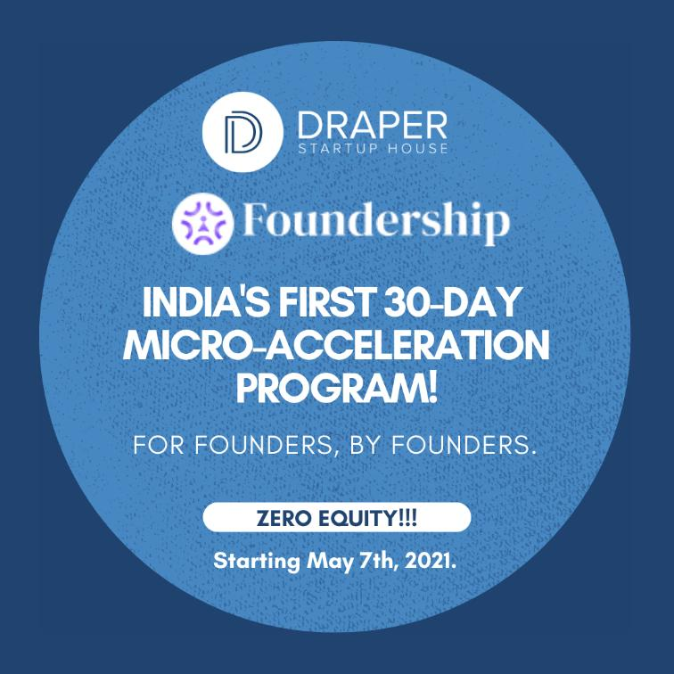 Announcing Draper Startup House: Foundership Micro-Accelerator Programs