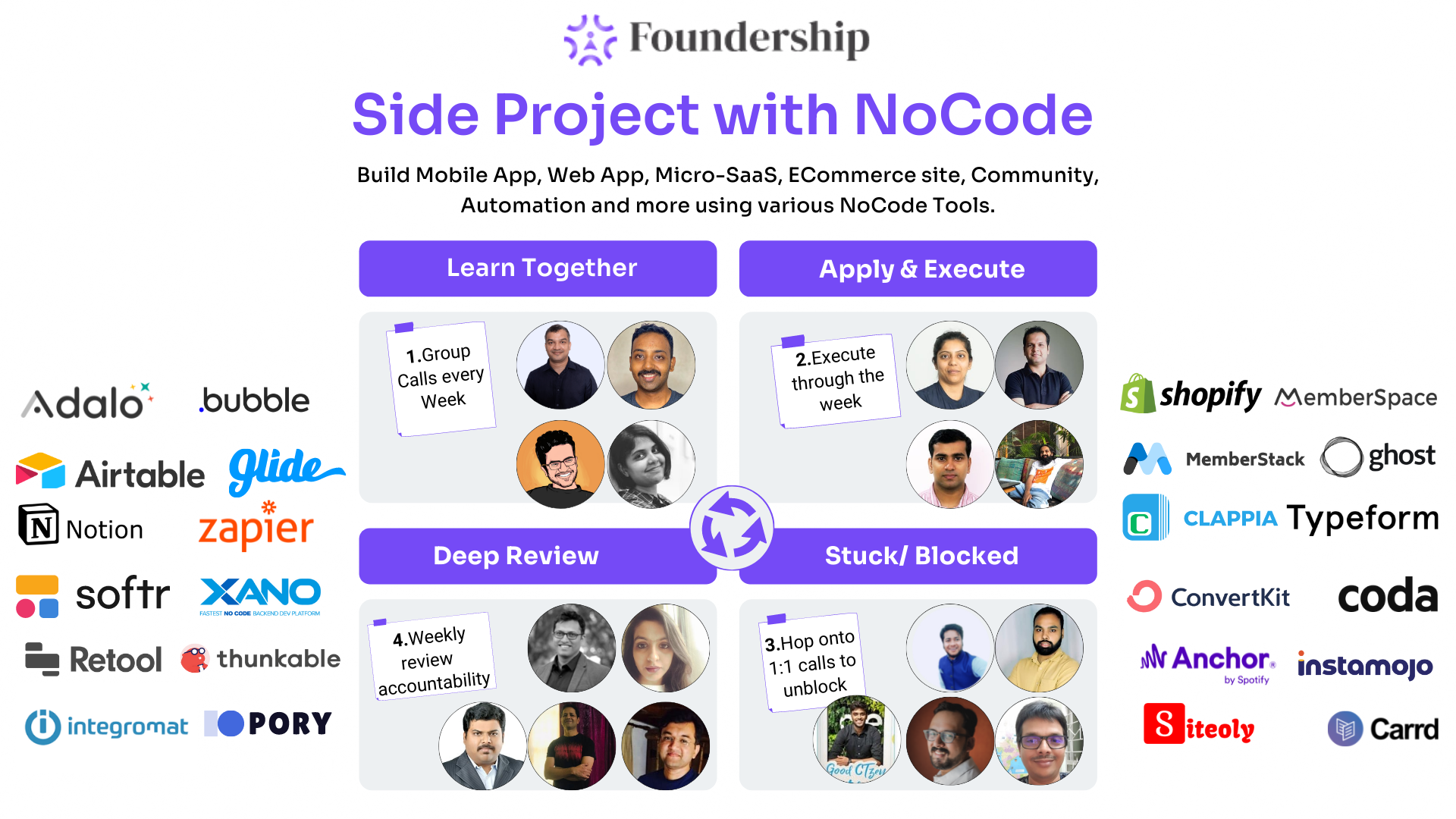 Announcing Cohort Program: Build a SideProject with NoCode