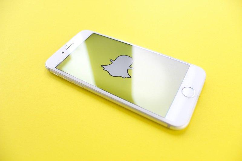 snapchat phone photo
