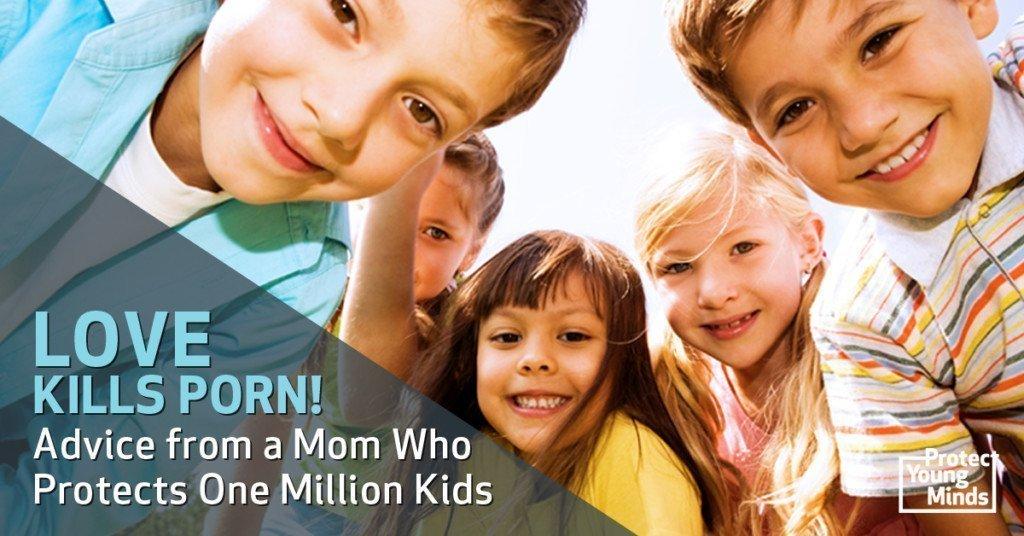 group of happy children, love kills porn