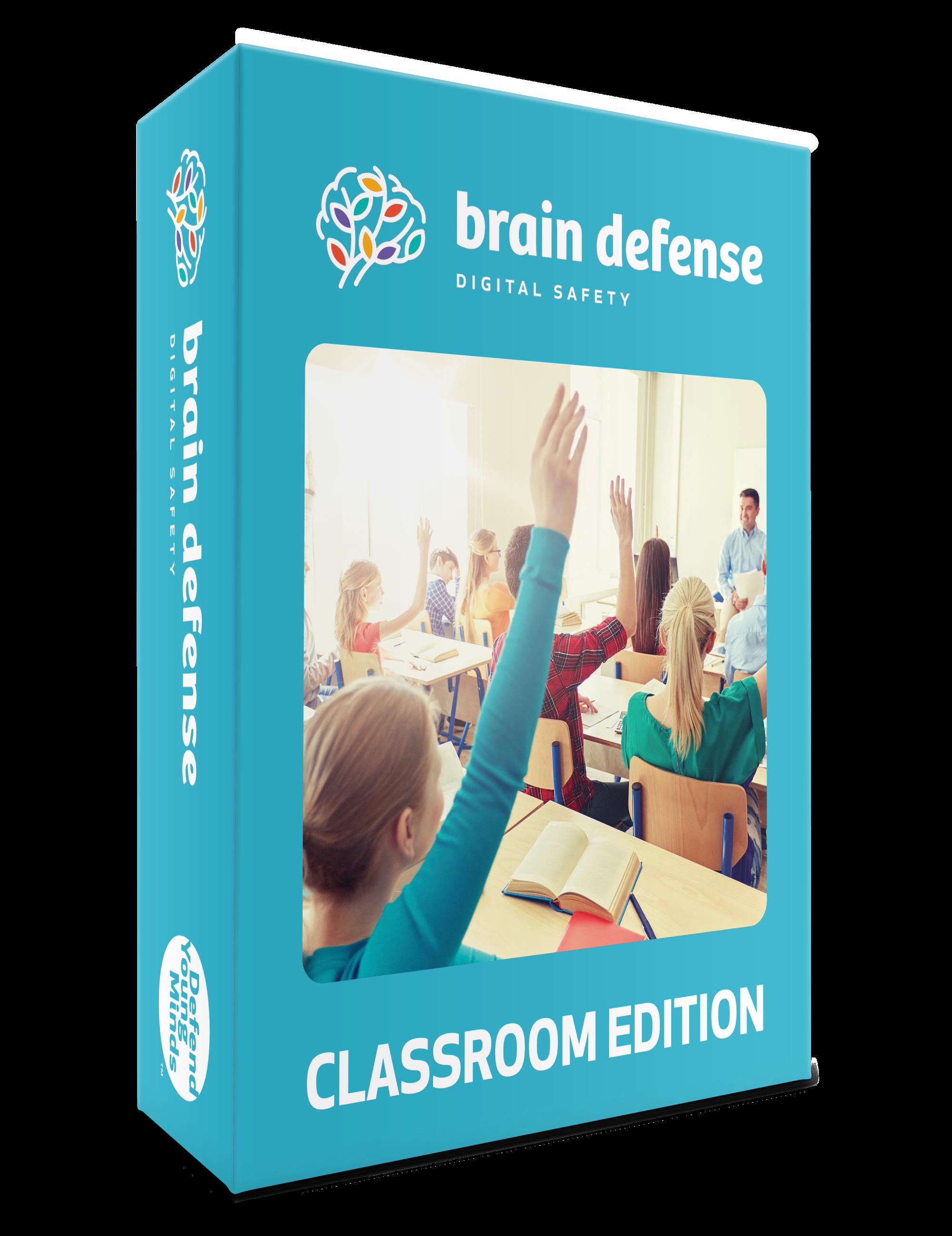 Brain Defense: Digital Safety Curriculum – Classroom Edition