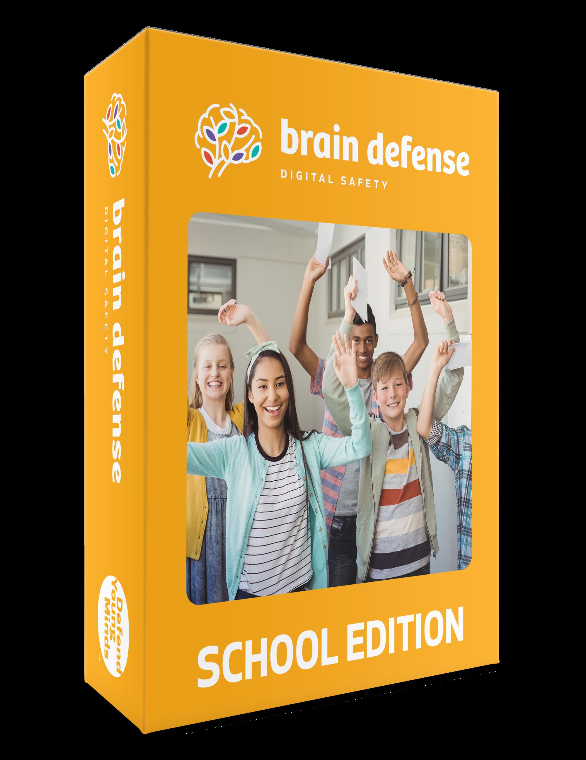 Brain Defense: Digital Safety Curriculum – School Edition