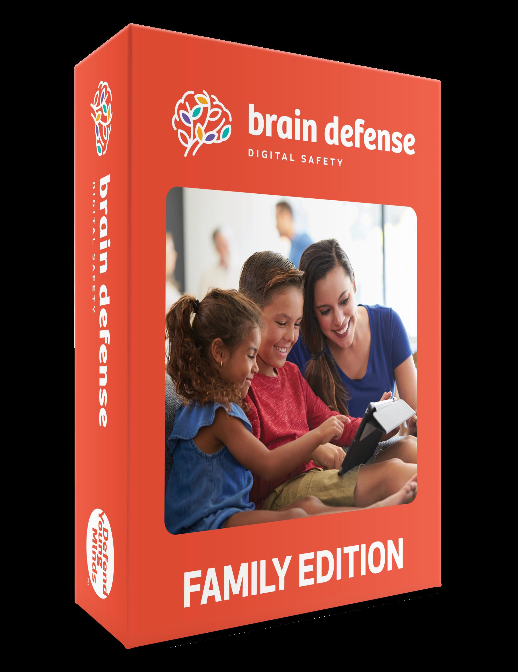 Brain Defense: Digital Safety Curriculum - Family Edition