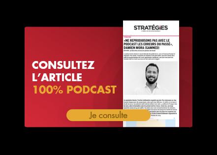 audio digital : article podcast