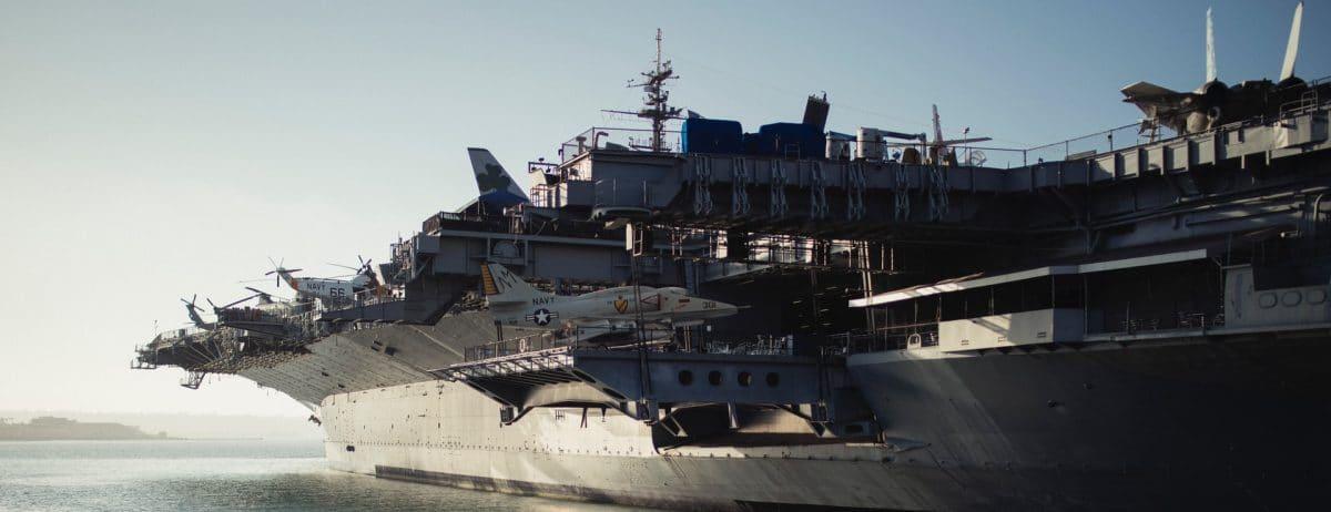 Big aircraft carrier
