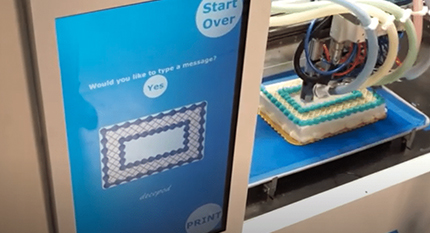 Now you can print your cake and eat it
