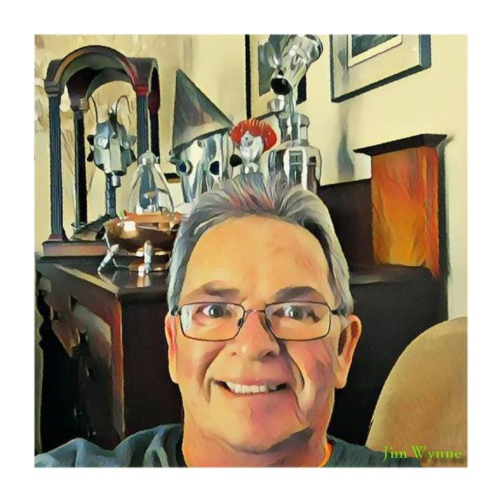 Jim Wayne Illustration Portrait