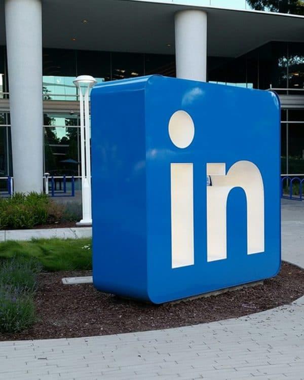 LinkedIn Sign