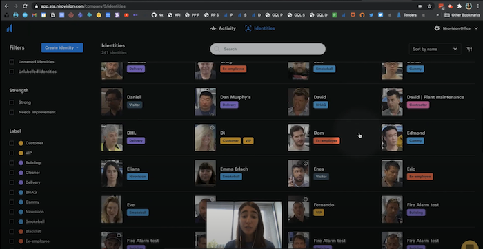How Nirovision's automated contact tracing works