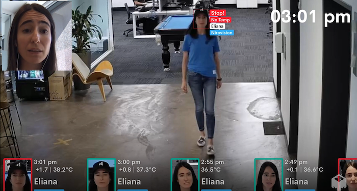Touchless check-in for workplaces with Nirovision's Doorkeeper