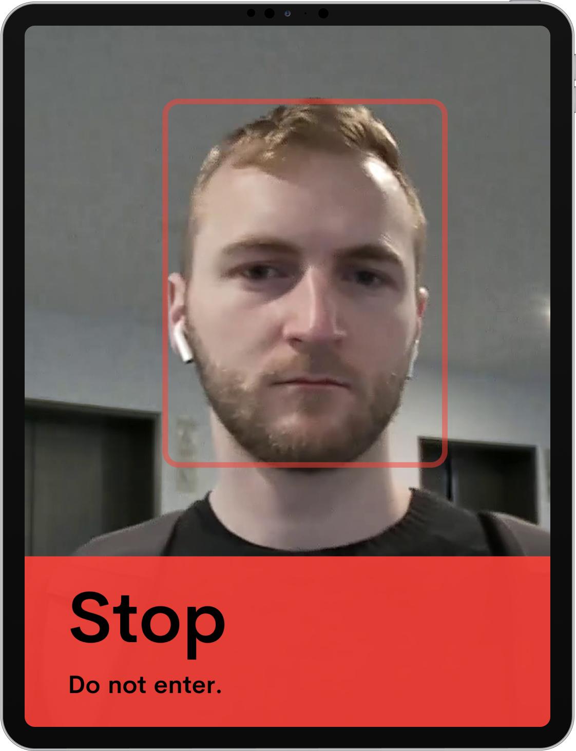 Doorkeeper Stop screen