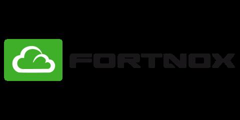 Fortnox partner's green and black logotype.