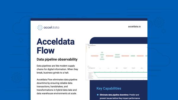 Flow Data Sheet