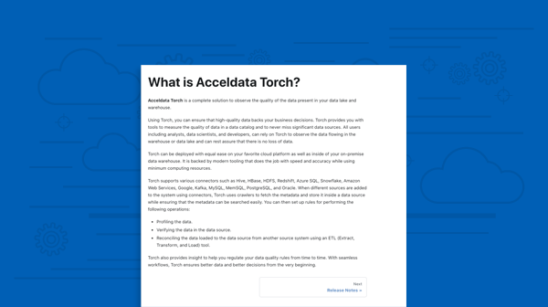 Torch Product Documentation