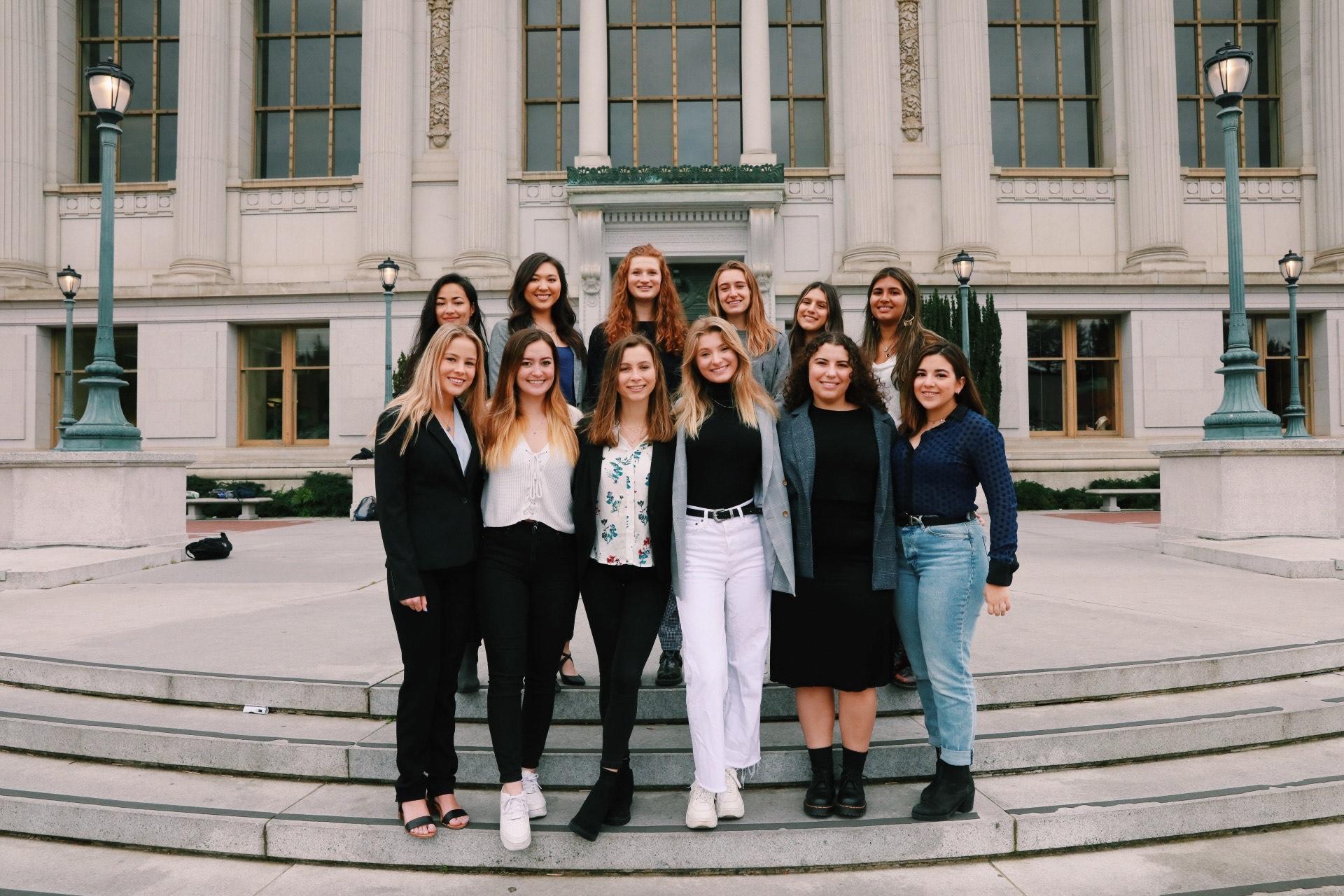 Group of TWN-UC Berkeley women