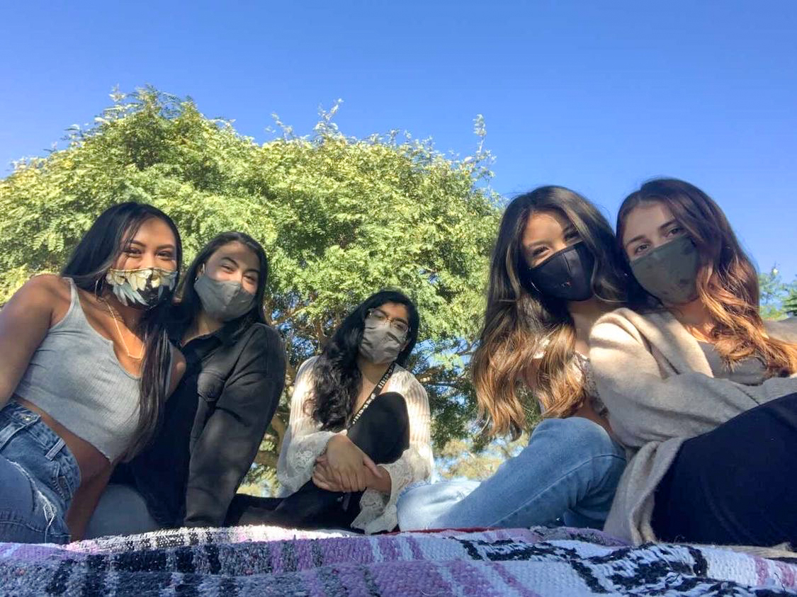 Group of TWN-SDSU women
