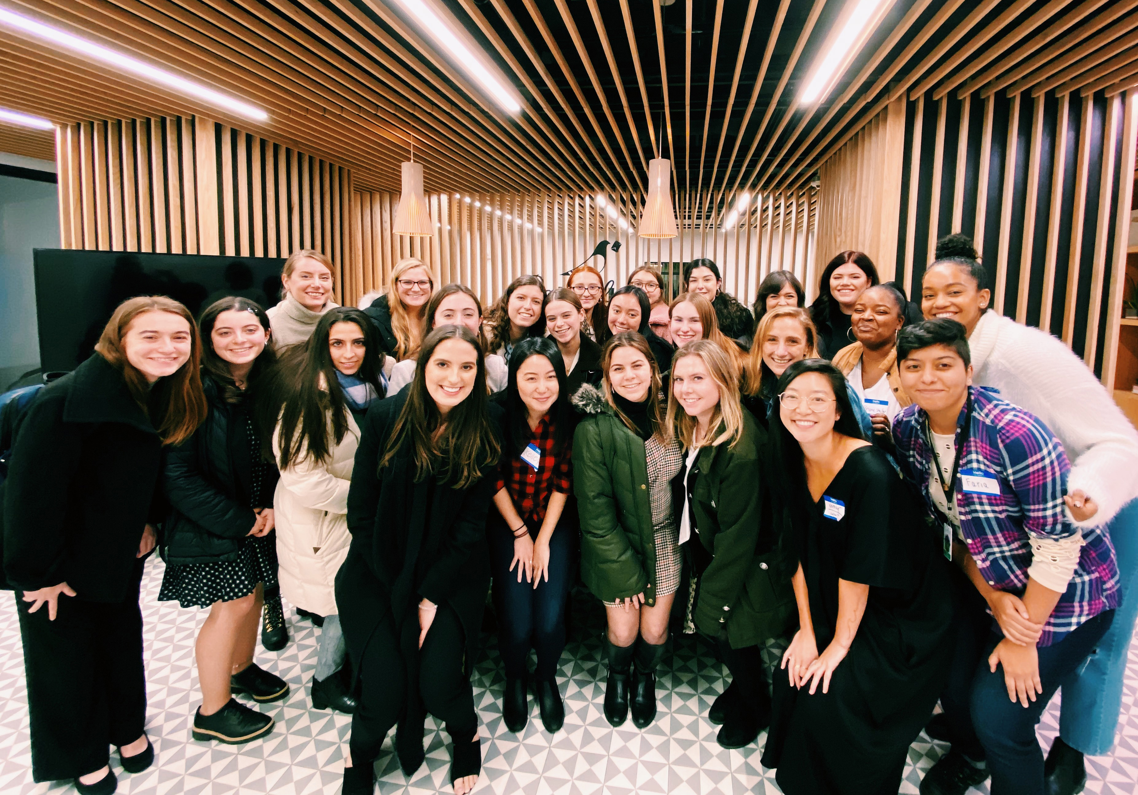 Group of TWN-Syracuse University women