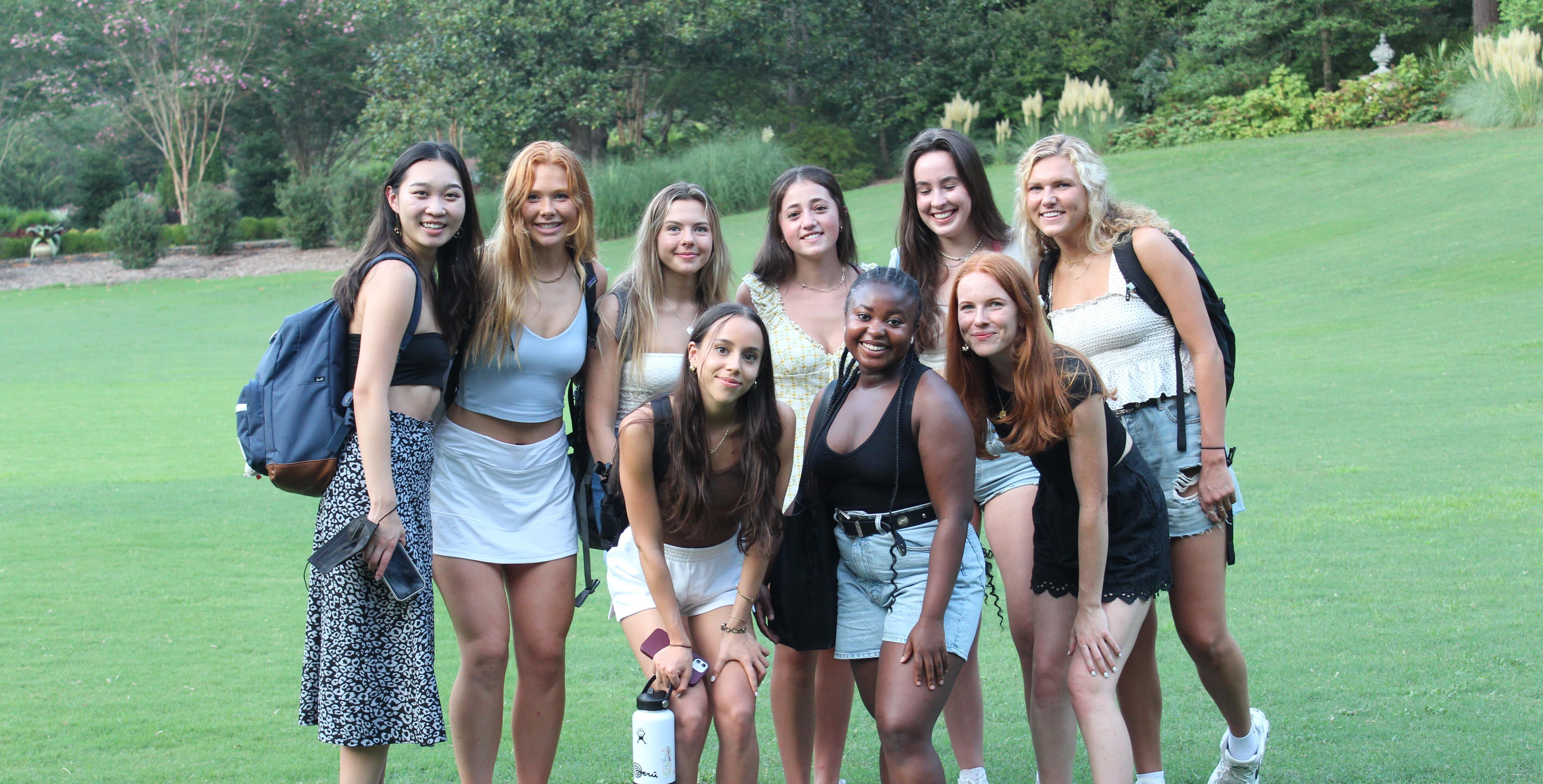 Group of TWN-Duke University women
