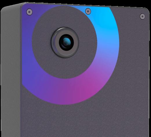 Invisible AI camera
