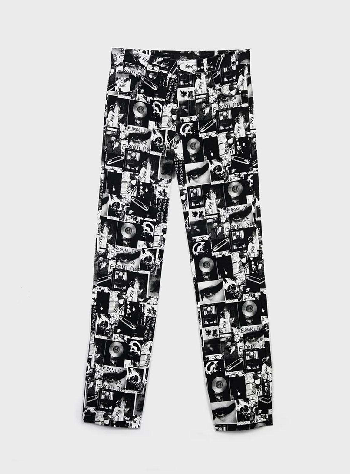 Super Print trousers