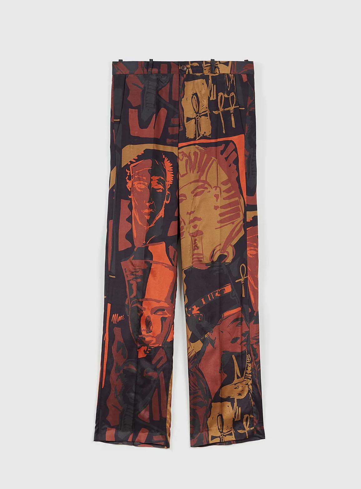 Fred pants egyptomania pattern