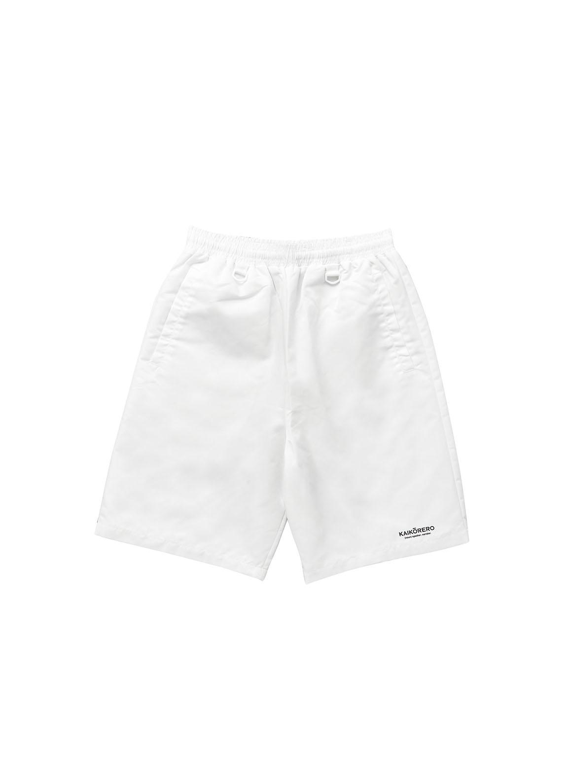 Nylon track shorts