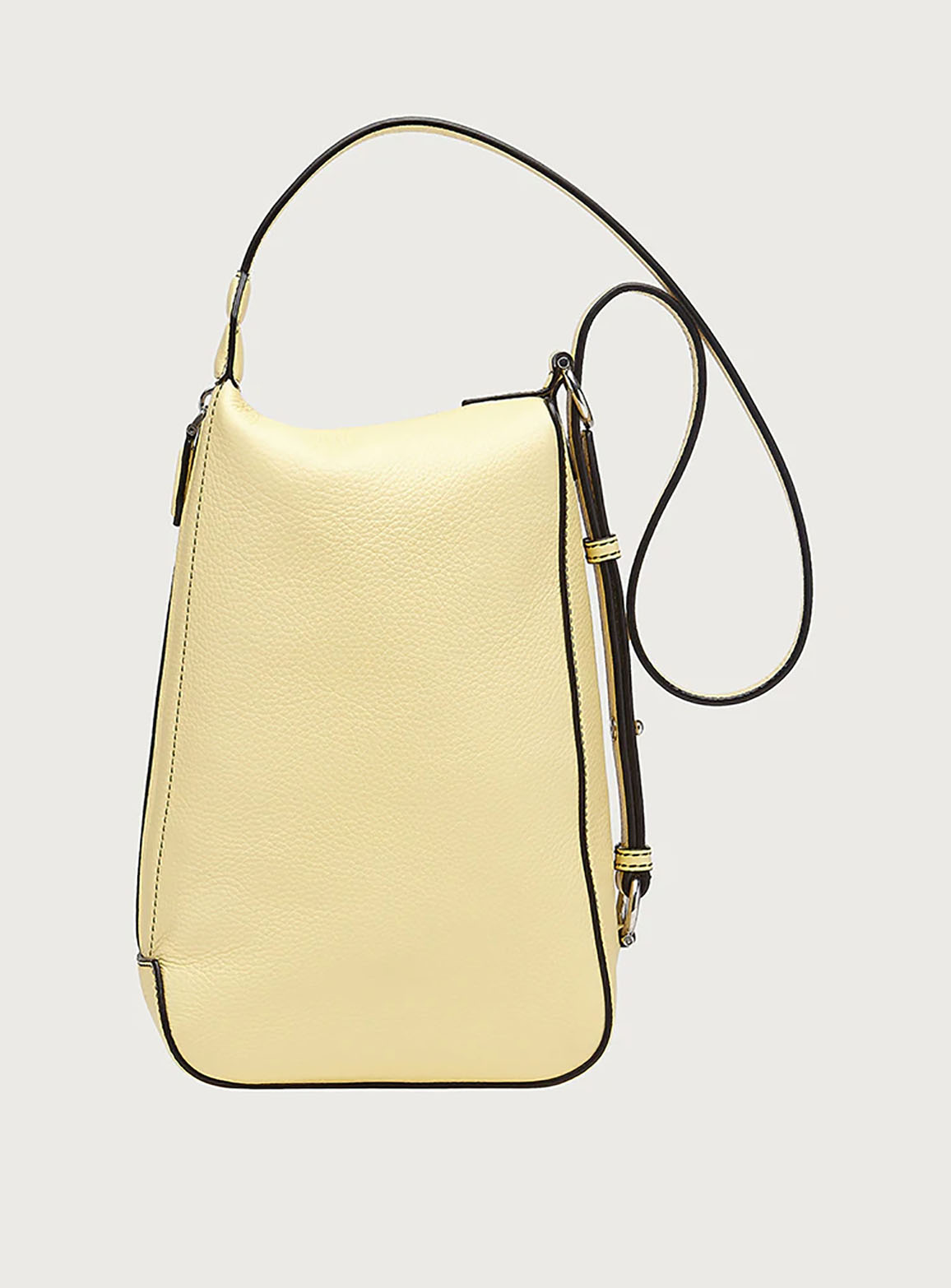 Gancini cross body bag yellow
