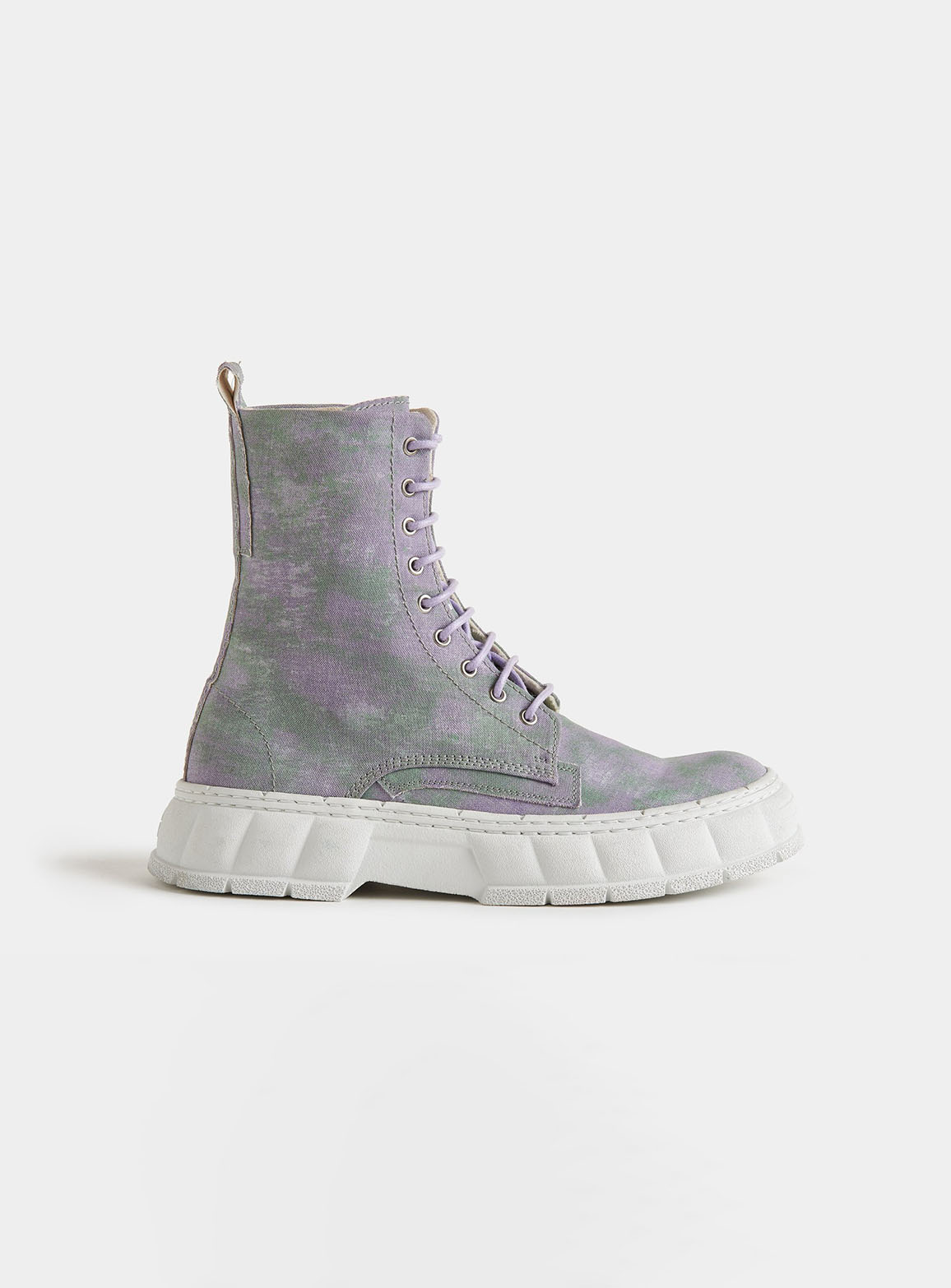 1992 Purple cloud combat boots